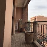 Deluxe Apart Daire, 2 Yatak Odası - Balkon