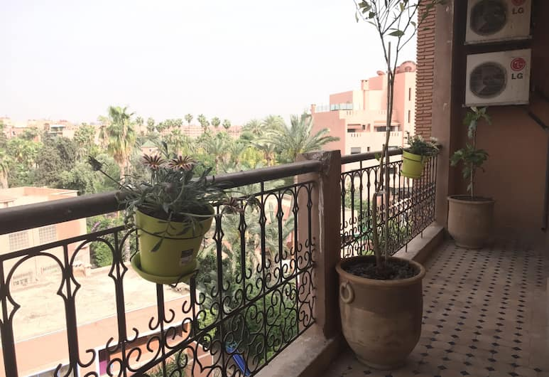 Majorelle Luxury Appartement, Marrakech, Appartement Deluxe, 2 chambres, Balcon