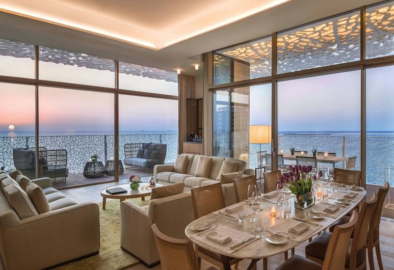 Bulgari Hotel & Resorts, Dubai, Dubaj, Bulgari Suite, Apartmá, 1 ložnice, nekuřácký, balkon, Pokoj