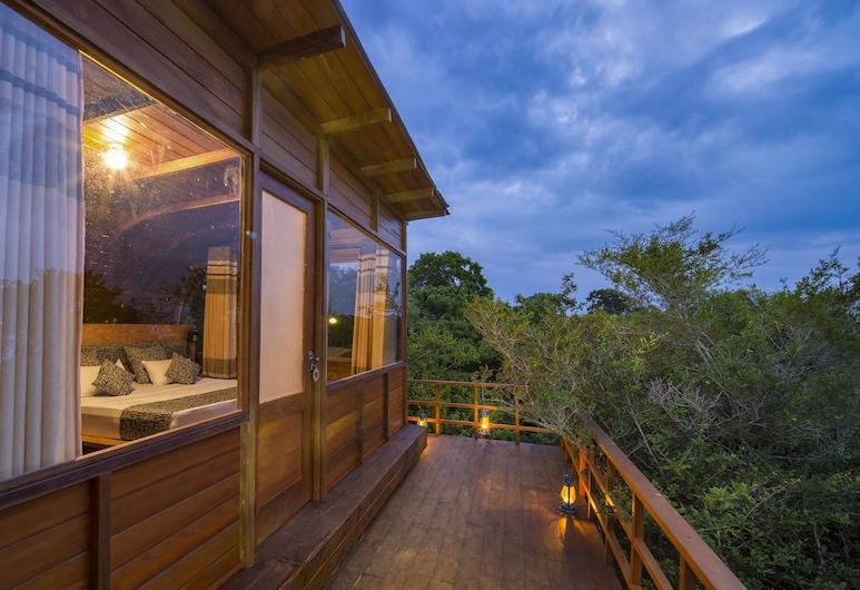 Leopard Nest Luxury Campsite , Tissamaharama, Luxury Tree House, 1 King Bed, Smoking, Park View, Balcony