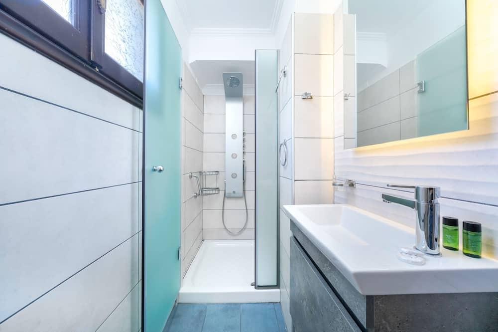 Deluxe-Zimmer, Meerblick - Badezimmer