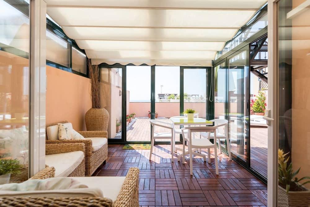 Appartamento Exclusive, 2 camere da letto, vista spiaggia - Terrazza/Patio