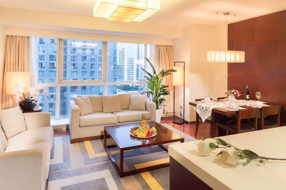 Deluxe Suite, 2 Bedrooms, Kitchen - Room
