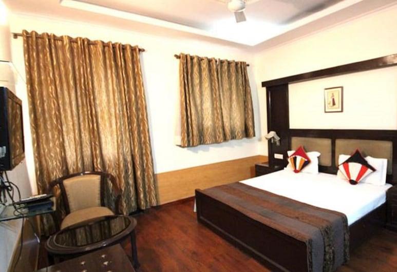 Hotel Excellent, Yeni Delhi, Deluxe Tek Büyük veya İki Ayrı Yataklı Oda, 1 Yatak Odası, Sigara İçilebilir, Oda