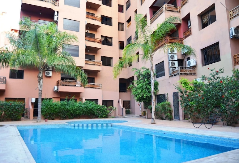Sabor Appartement Andalous, Marrakech, Uima-allas