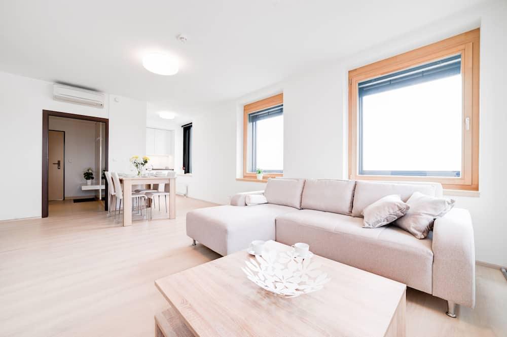 Comfort Apartment, 1 Bedroom (Airway) - Ruang Tamu