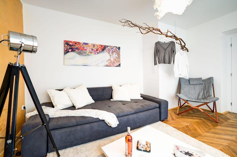 Comfort külaliskorter, 1 magamistoaga - Elutuba