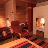 小屋, 三溫暖 - 客廳