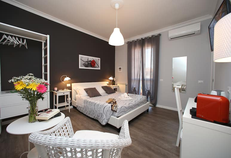 A 2 帕西傣姆賽旅館, 羅馬, 豪華雙人房, 露台, 客房