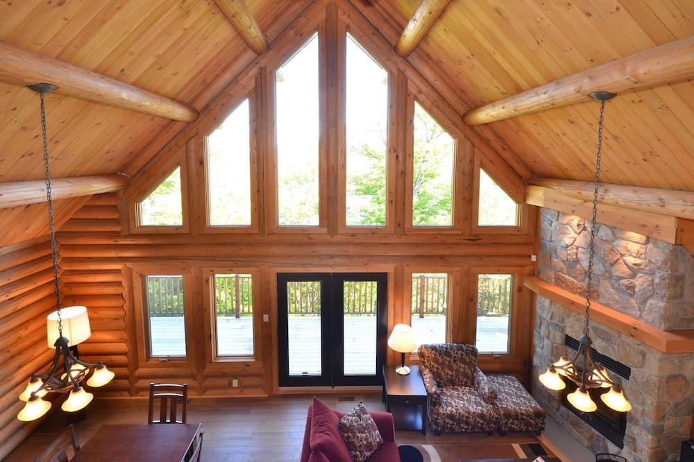 木屋, 4 间卧室 - 起居区