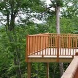木屋, 5 间卧室, 湖景 - 阳台