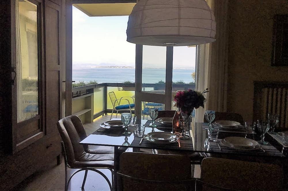 Appartement, 2 chambres, terrasse, vue lac - Salle de séjour