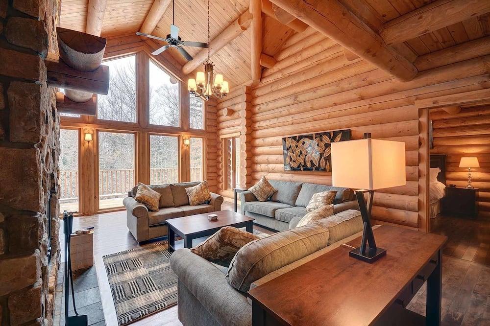 木屋, 多间卧室 - 起居室