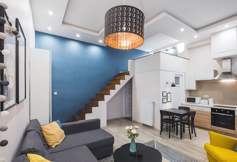 CozyYellowCube Apartment, Budapeszt