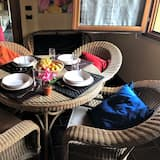 Duplex, 1 Bedroom, Terrace, City View - In-Room Dining
