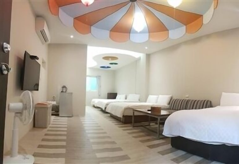 Happiness YES Hostel, Luodong, Suite – family, Gjesterom