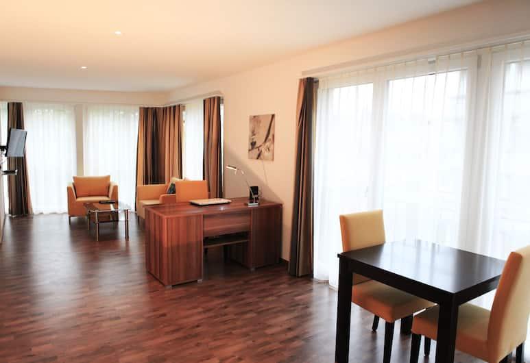 Swiss Star Franklin, Zürich, Poslovni apartman, 1 spavaća soba, Soba