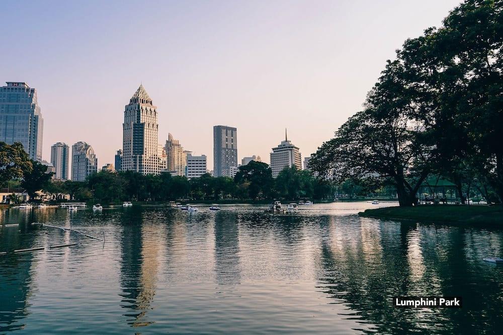 Pemandangan kota dari properti
