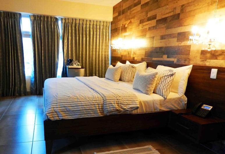 MON Hotel Boutique, Constanza, Apartament typu Junior Suite, balkon, Pokój