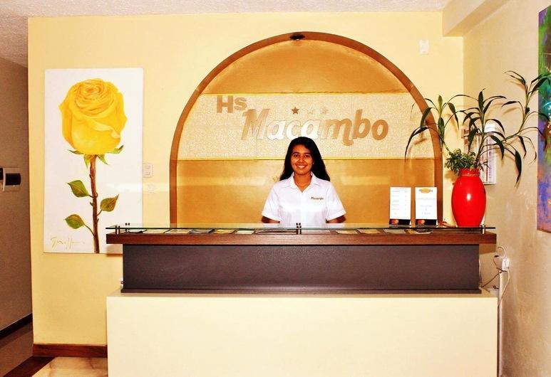 Hostal Macambo, Iquitos, Vastuvõtuala