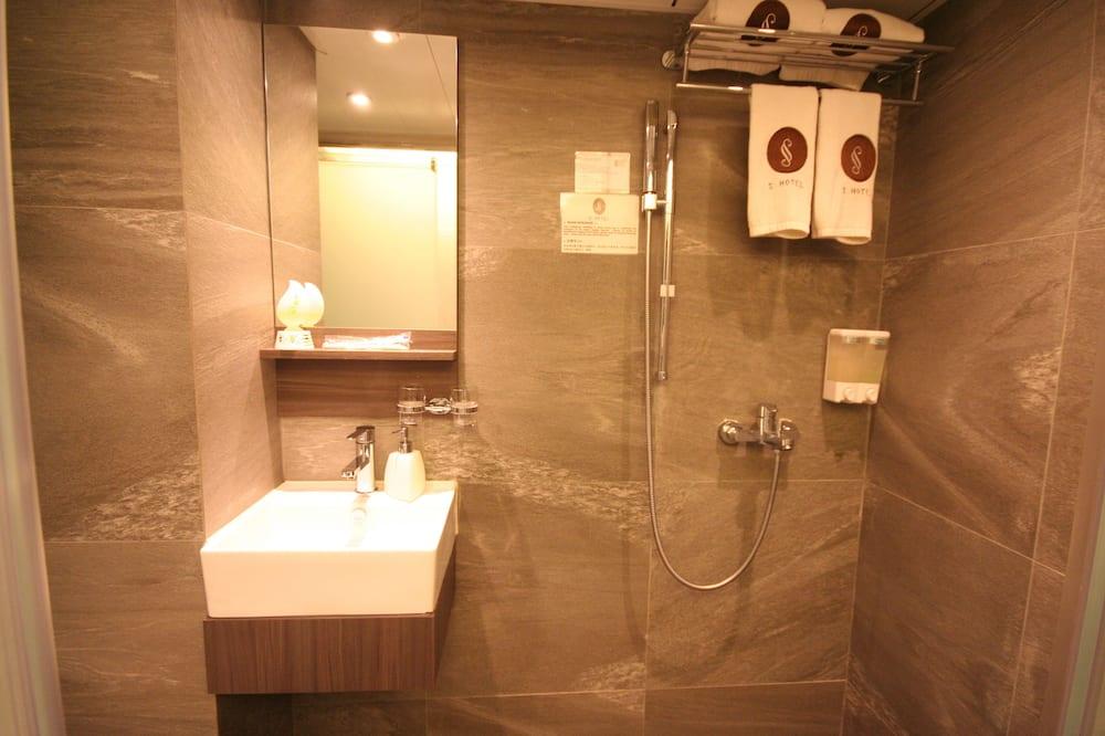 Standard Double Room, No Windows - Bathroom