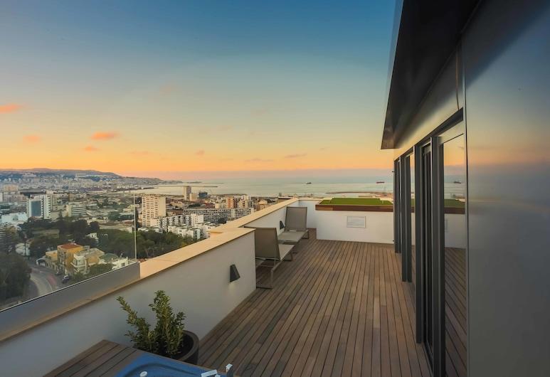 Lamaraz Arts Hotel, Algiers, Suite, Sea View (Paradis), Terrace/Patio