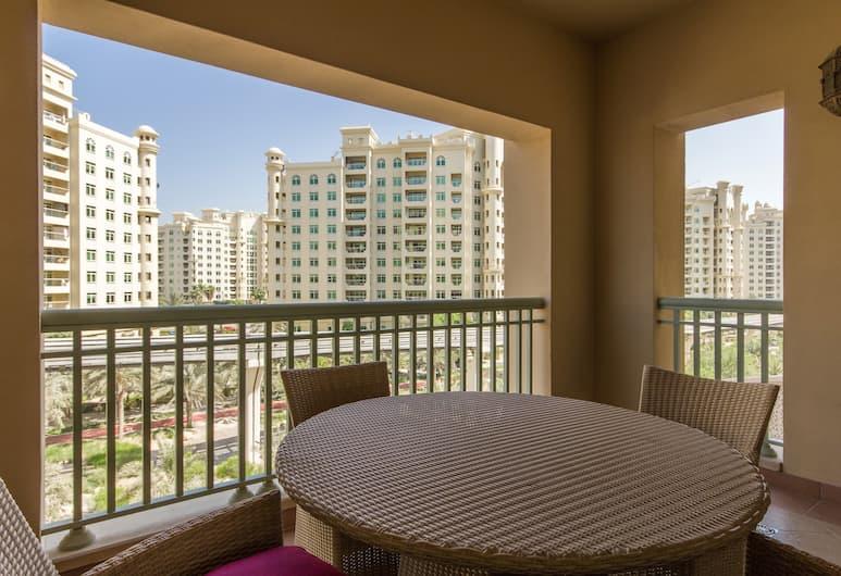 量身訂製住宅飯店 - 黃金哩 2 號, 杜拜, 公寓, 2 間臥室, 陽台