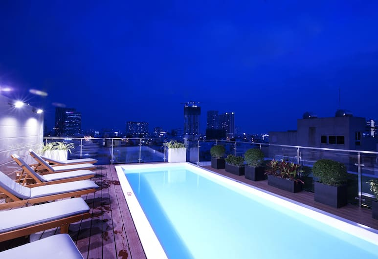Lotus Boutique Hotel, Ho Chi Minh City, Rooftop Pool