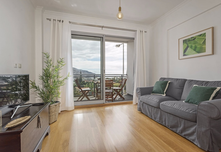 Barreiros I by An Island Apart, Funchal, Apartment, 1 Bedroom, Balcony, Ocean View, Living Room