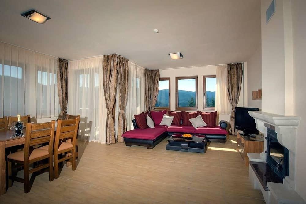 Розкішні апартаменти, 1 спальня - Вітальня
