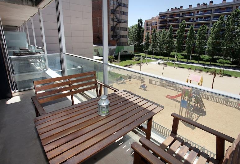 1215 - Ciutadella Pretty Apartment, Barcelona, Lägenhet - 2 sovrum - balkong, Balkong
