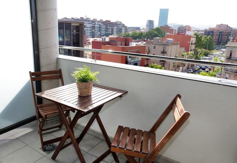 1216 - Forum Gardens Apartment, Barcelona, Apartmán, 2 spálne, balkón, Balkón