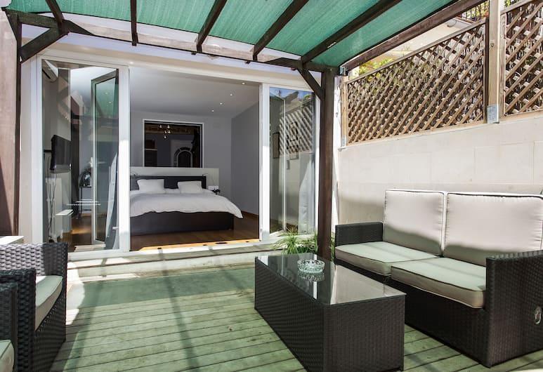 1229 - City Center Apartment with Terrace , Barcelona, Lägenhet - 2 sovrum - balkong, Balkong