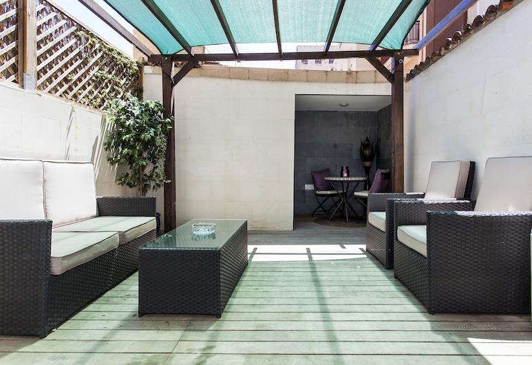 1229 - City Center Apartment with Terrace , Barcelona, Apartmán, 2 spálne, balkón, Balkón