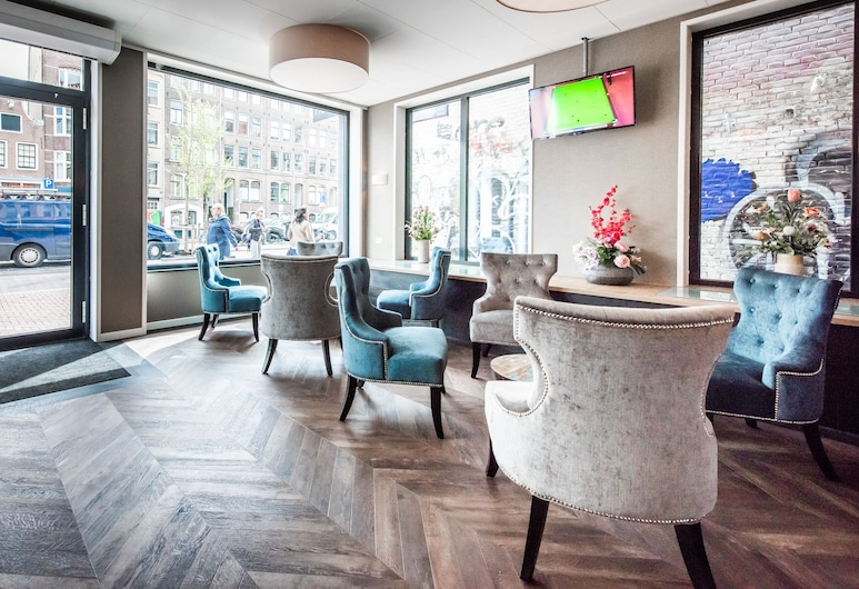 Melrose Hotel, Amsterdam, Salon de la réception