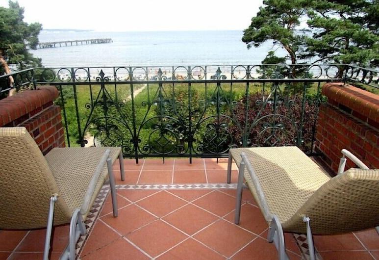 Villa Glueckspilz (6RB31), Bincas, Butas, 3 miegamieji, terasa, vaizdas į jūrą, Balkonas