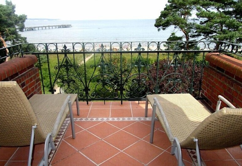 Villa Glueckspilz (6RB31), Binz, Condo, 3 Bedrooms, Terrace, Sea View, Balcony
