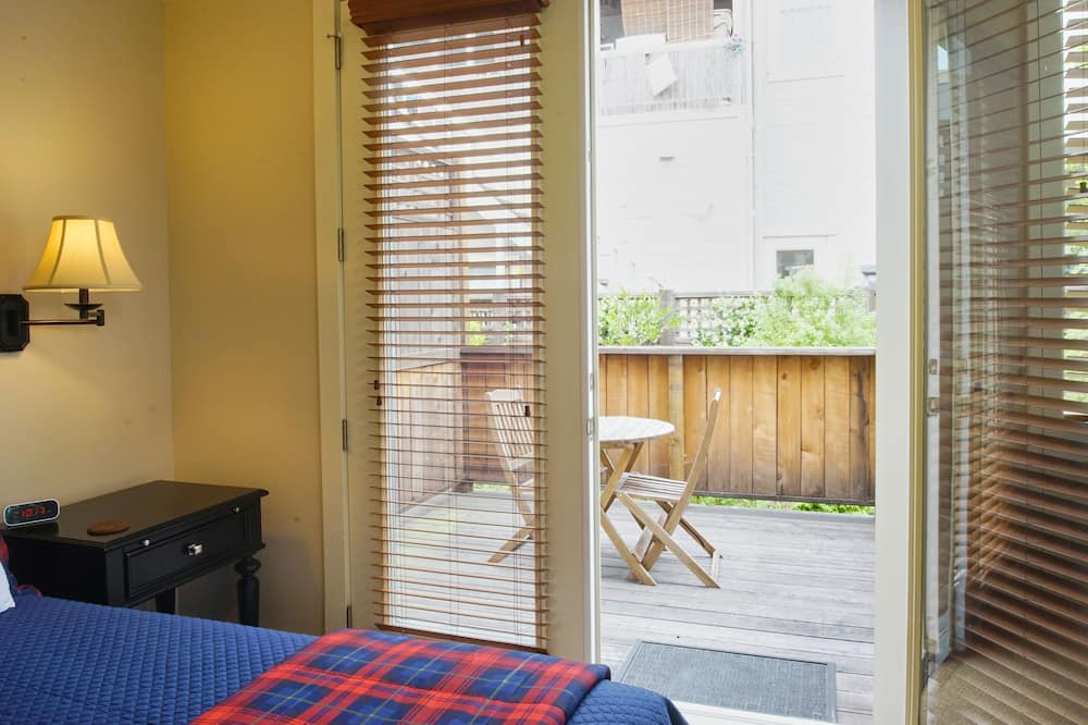 Estúdio de Luxo, 1 cama queen-size, Cozinha - Varanda