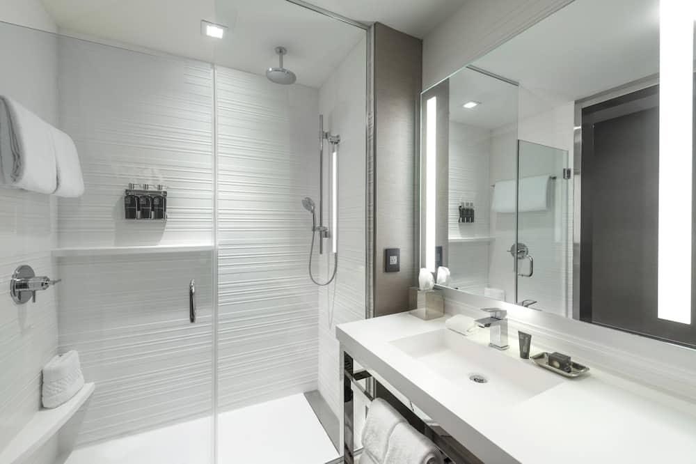 Huone, 1 suuri parisänky, Tupakointi kielletty - Kylpyhuone