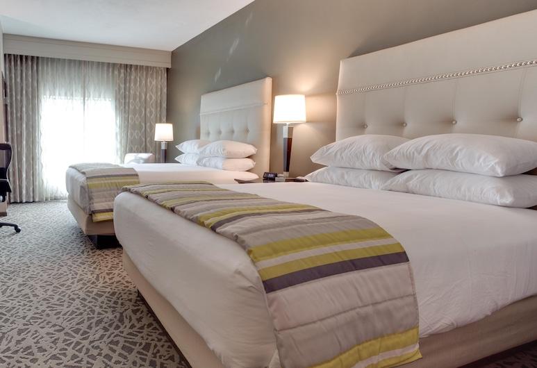 Drury Inn & Suites Pittsburgh Airport Settlers Ridge, Pittsburgh, Habitación Deluxe, 2 camas Queen size, refrigerador y microondas, Habitación