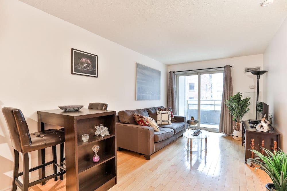 Condominio Confort, Varias camas, cocina - Sala de estar