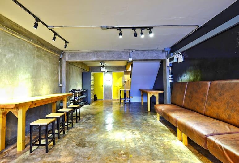 香蕉青年旅舍, 曼谷, 大堂閒坐區