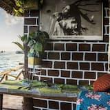 Poilsio namelis, vaizdas į vandenyną - Balkonas