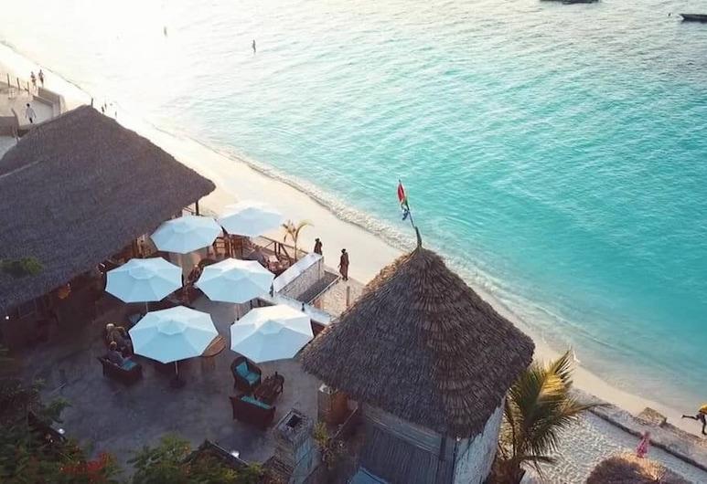 Beach Baby Lodge, Nungvis, Restoranas