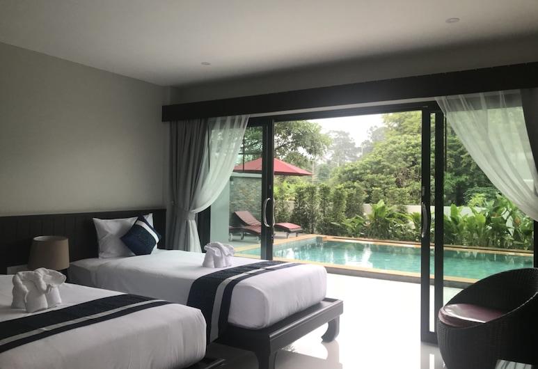 Amarina Green Hotel, Koh Samui, Standardværelse med 2 enkeltsenge, Værelse
