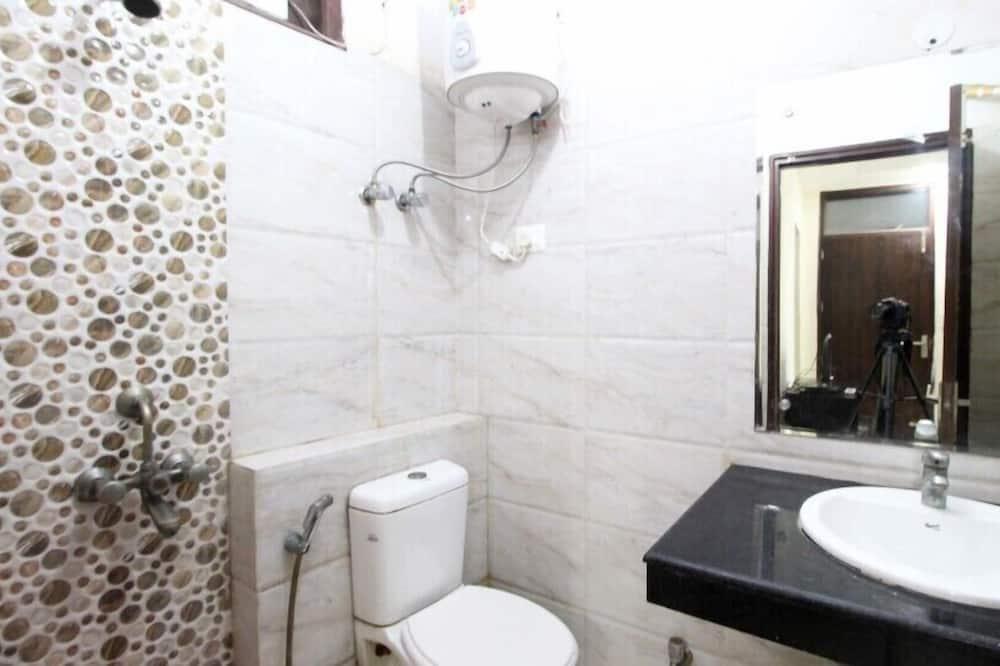 Номер «Делюкс» (1 двоспальне або 2 односпальних ліжка), 1 спальня, обладнано для інвалідів - Ванна кімната