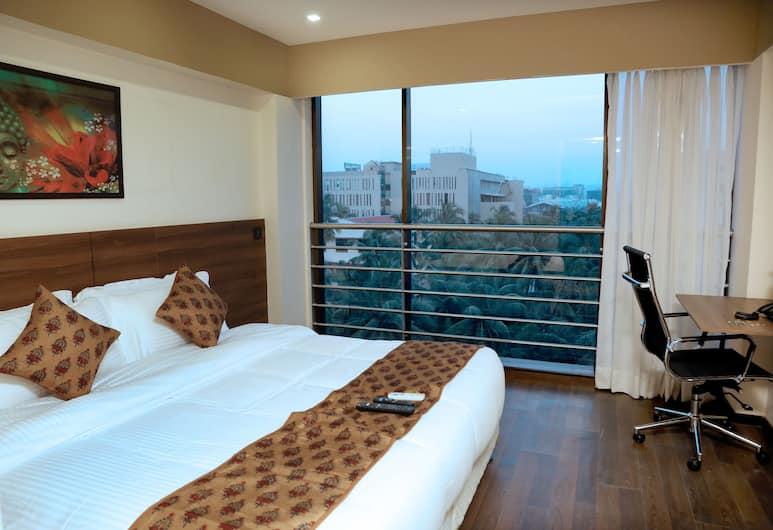 Hotel Mumbai House, Bombay, Premium Tek Büyük Yataklı Oda, 1 Büyük (Queen) Boy Yatak, Sigara İçilmez, Bahçe Manzaralı, Oda
