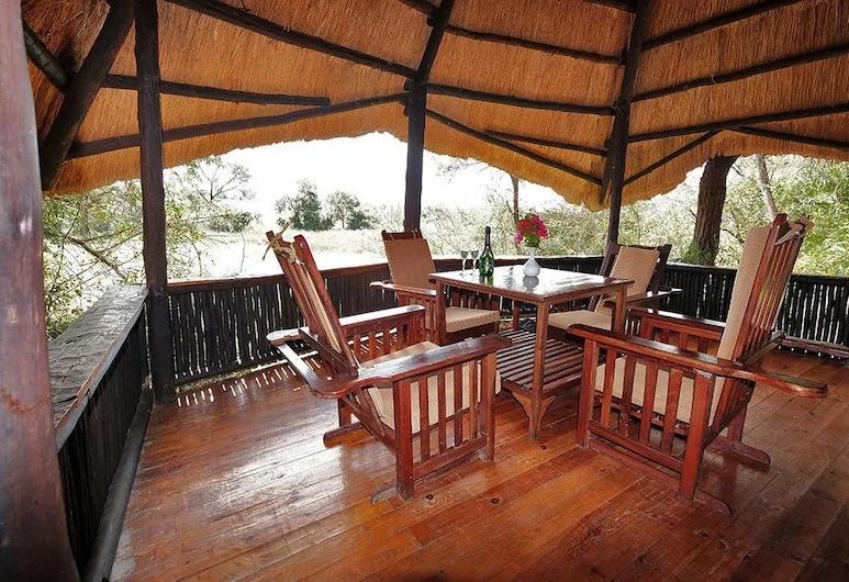 Antelope Park Safari Lodge, Gweru, Phòng đôi Tiêu chuẩn, Sân thượng/sân hiên