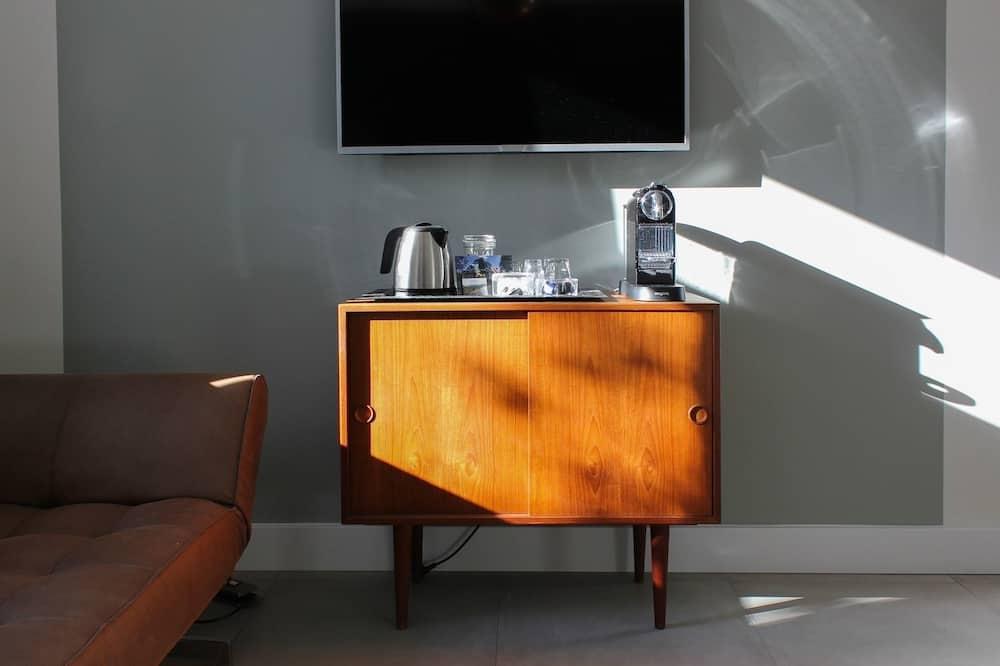 Deluxe-herbergi með tvíbreiðu rúmi (Coffee Time Room) - Stofa