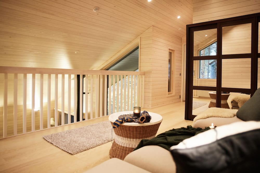 Luxury Nordic Cottage - Sala de Estar